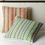 Lofthome By The Company Store® Sunnyside Embroidered Pillow Cover