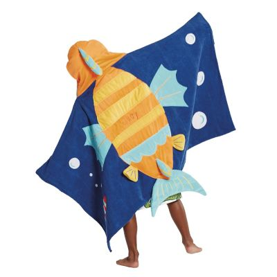Fish Hooded Towel