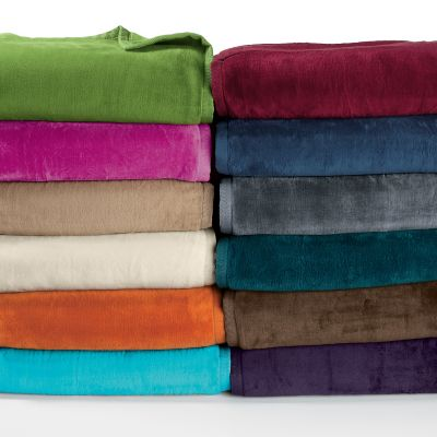Egyptian Cotton Fleece Blanket and Throw