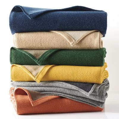Washable Wool Blanket & Throw