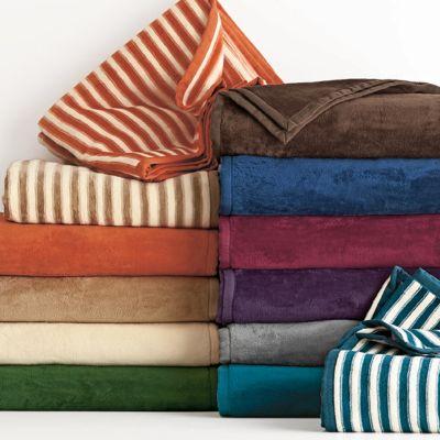 Egyptian Cotton Fleece Blanket & Throw