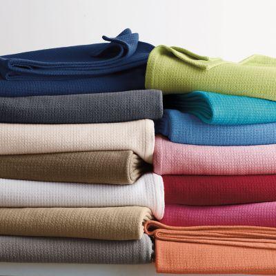 Cotton Weave Blanket & Throw