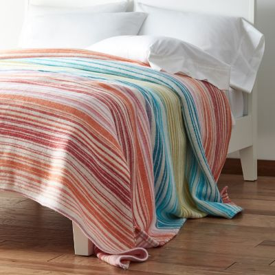 Sunset Stripe Blanket & Throw