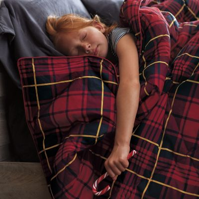 PrimaLoft® Deluxe Printed Throw – Darby Plaid