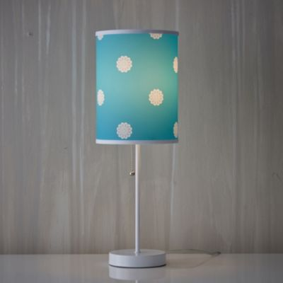 Flower Dot Peacock Lamp