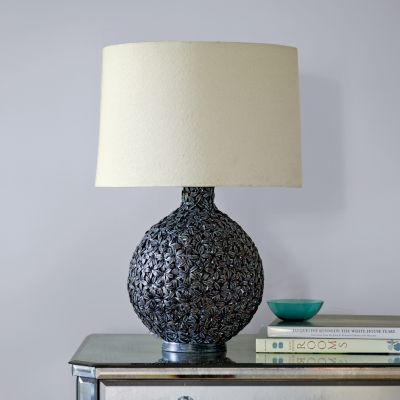 Petal Table Lamp Base with Shade
