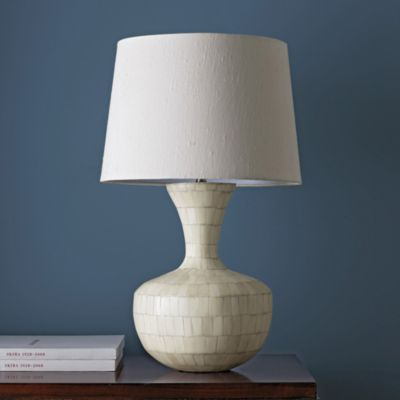 Legends® Bone Inlay Table Lamp with Shade