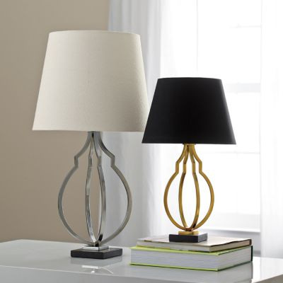 Small Harper Table Lamp with Shade
