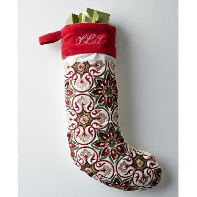 Beaded Christmas Stockings