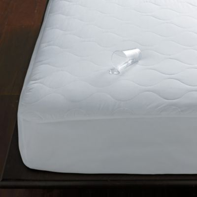 Quiet Waterproof Quilted Mattress Pad