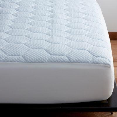 cooling gel memory foam mattress pad the company store. Black Bedroom Furniture Sets. Home Design Ideas