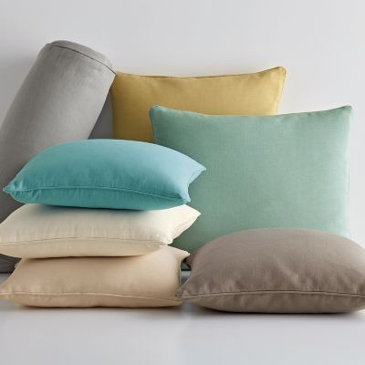 Cotton Duck Pillow Covers