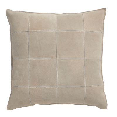 Beige Vintage Cow Accent Pillow Cover