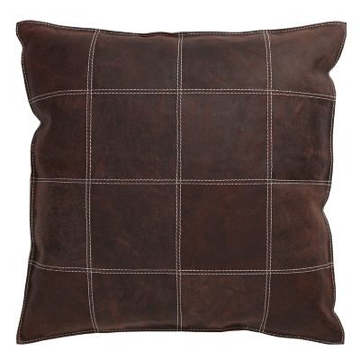 Brown Vintage Cow Accent Pillow Cover