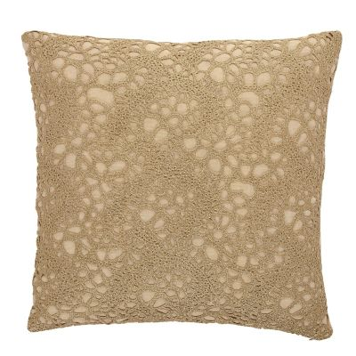 Legends® Gold Crochet Pillow Cover
