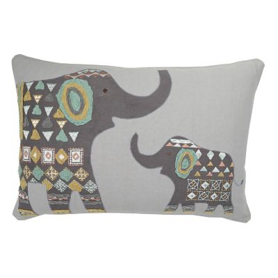 Caravan Pillow Cover – Elephant
