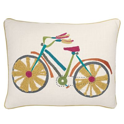 Accents Novelty Pillows – Bicycle