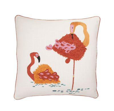 Accents Novelty Pillow Cover – Flamingo