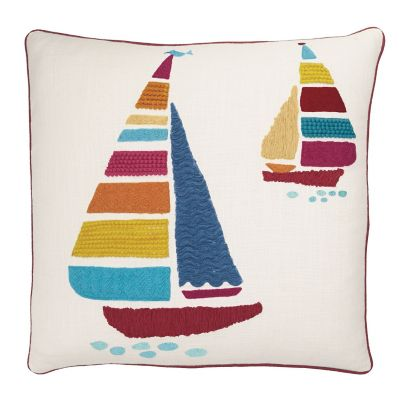 Accents Novelty Pillow Covers – Sailboat