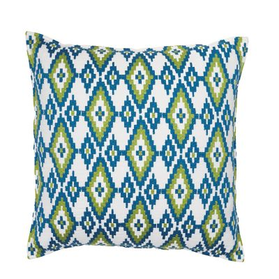 Diamond Decorative Pillow - Blue