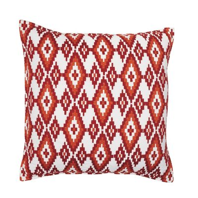 Diamond Decorative Pillow - Red