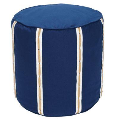 Stripe Ottoman Cover