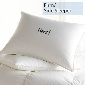 Down firm side sleeper best pillows for Best down pillow for neck pain