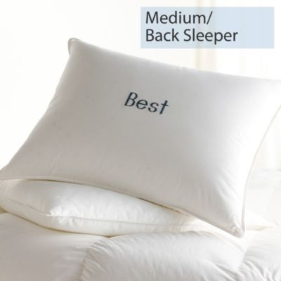 Down, Medium, Back Sleepers, Best Pillows