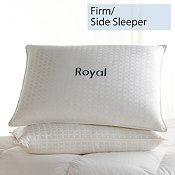 Down, Firm, Side Sleeper, Royal Pillows
