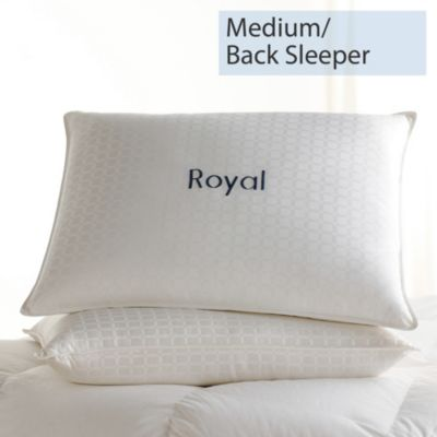 Legends® Royal Down Pillow - Medium, Back Sleeper