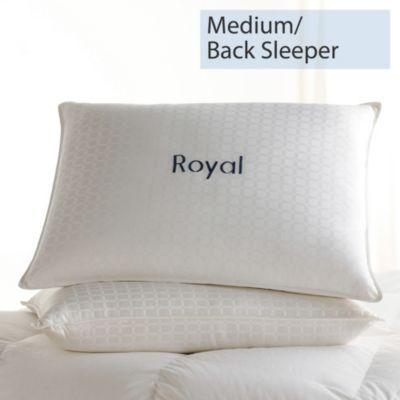 Legends® Royal Down Pillow - Medium, Back Sleeper