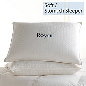 Down, Soft, Stomach Sleeper, Royal Pillows