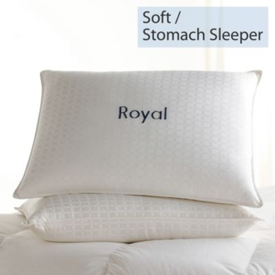 Legends® Royal Down Pillow - Soft, Stomach Sleeper