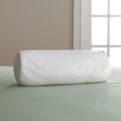 Firm, 95% Feather/5% Down Neckroll Pillow