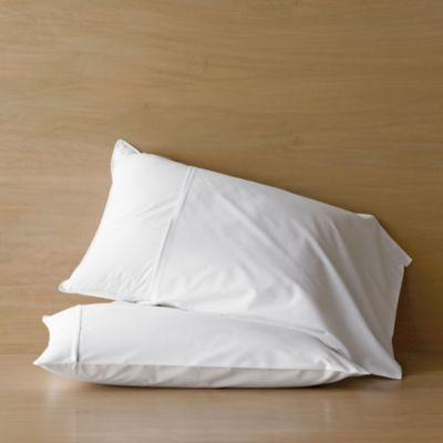 300-TC Sateen Cotton Pillow Protectors