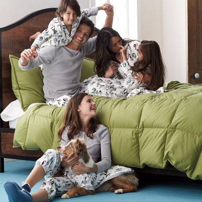 Family Pajamas – Pecking Order