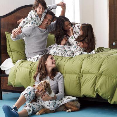Family Pajamas – Pecking Order