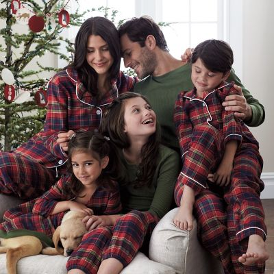 Family Pajamas – Woodstock Plaid