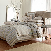 Comfort Wash Raleigh Stripe Linen Bedding