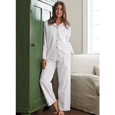 Woven Cotton Pajamas – Dots Dots