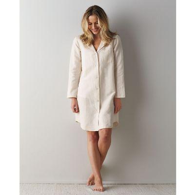 Linen Cotton Women's Nightshirt