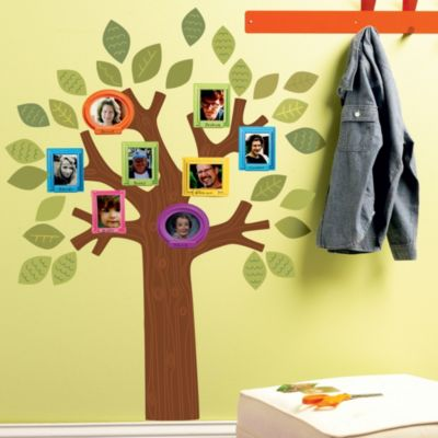 Fun Family Tree Wall Decal