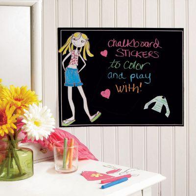 Ruby Dress Up Chalkboard Wall Decal