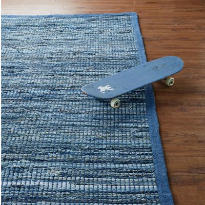 Denim Chindi Rug / Rug Comfort Grip