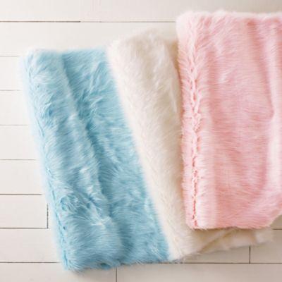 Faux Sheepskin Rug / Rug Comfort Grip