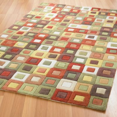 Square in Square Rug / Rug Comfort Grip