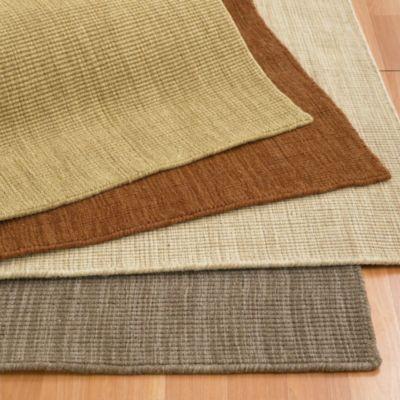 Wool Blend Sisal-Texture Rug / Rug Comfort Grip