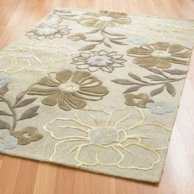 Petunia Floral Rug / Rug Comfort Grip