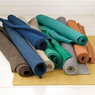 Company Wool Solid Flatweave Rug