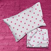 Flower Dot Percale Bedding